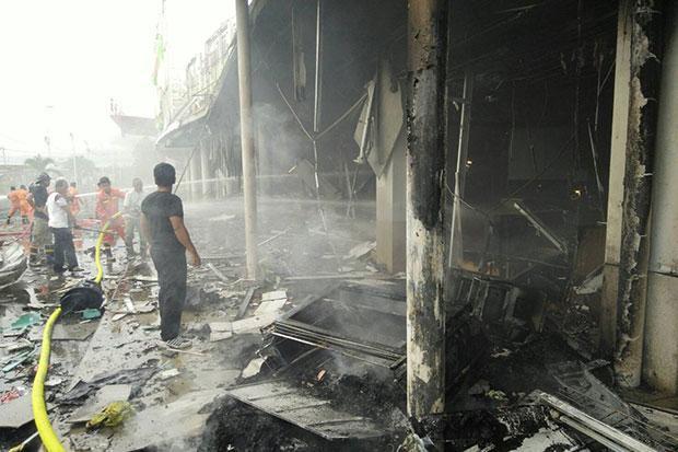 Atentado con carro bomba deja más de 50 heridos enTailandia