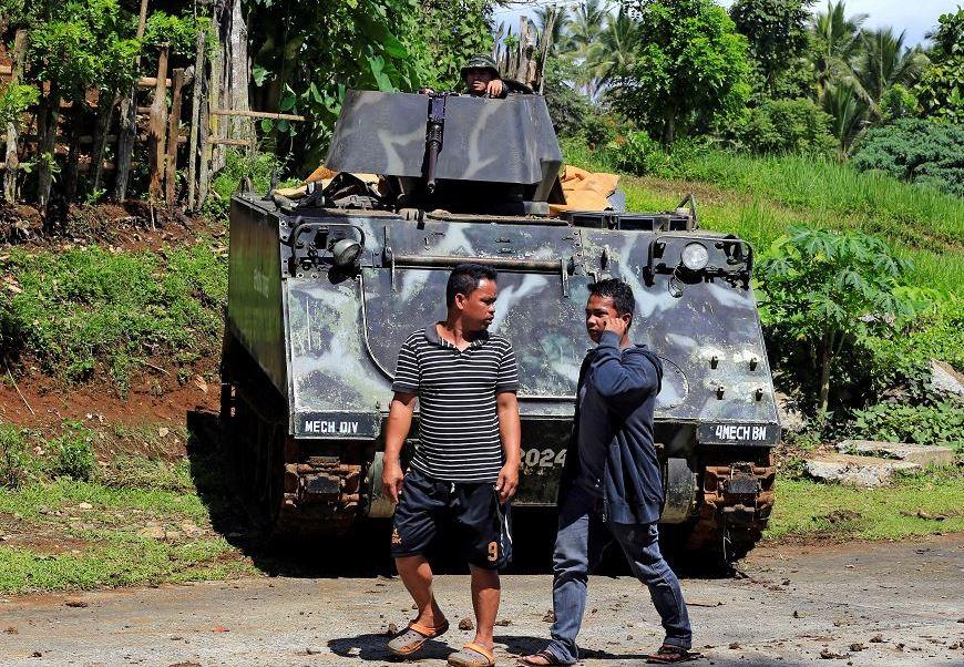 presidente de filipinas, Rodrigo Duterte, ley marcial, ciudad de Marawi, Filipinas
