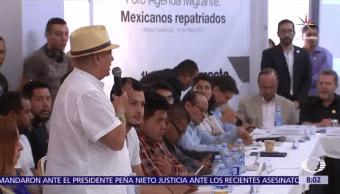 foro Agenda Migrante, Eunice Rendón, Jorge Castañeda, periodistas