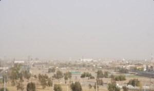 Panoramica de Ciudad Juarez tras ser afectada por vientos