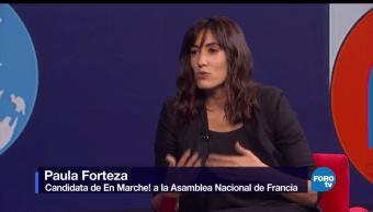 Genaro Lozano, entrevista, Paula Forteza, En Marche, Asamblea Nacional, Francia