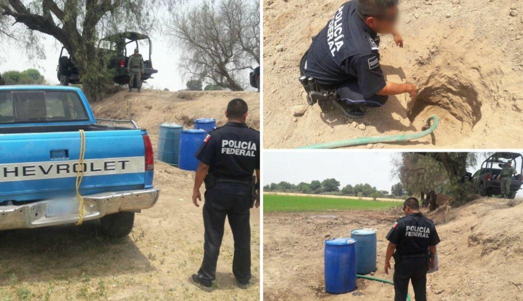 Sedena, Hidrocarburo, Huachicoleros, Guanajuato, Policia federal, Pemex