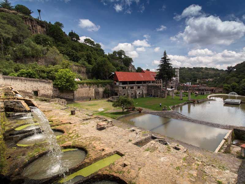 Hacienda del Geoparque Comarca Minera en Hidalgo (Unesco)