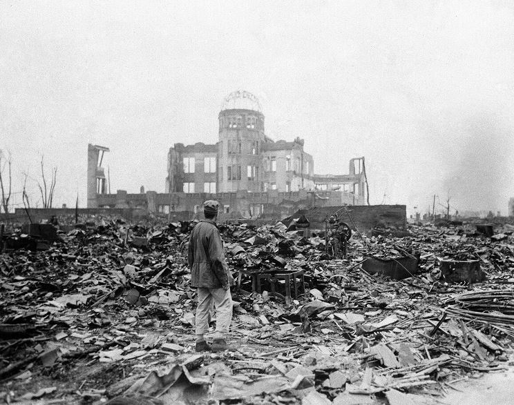 Hirishima, bombardeo, bomba atómica, Yoshie Oka, segunda guerra mundial, Japón