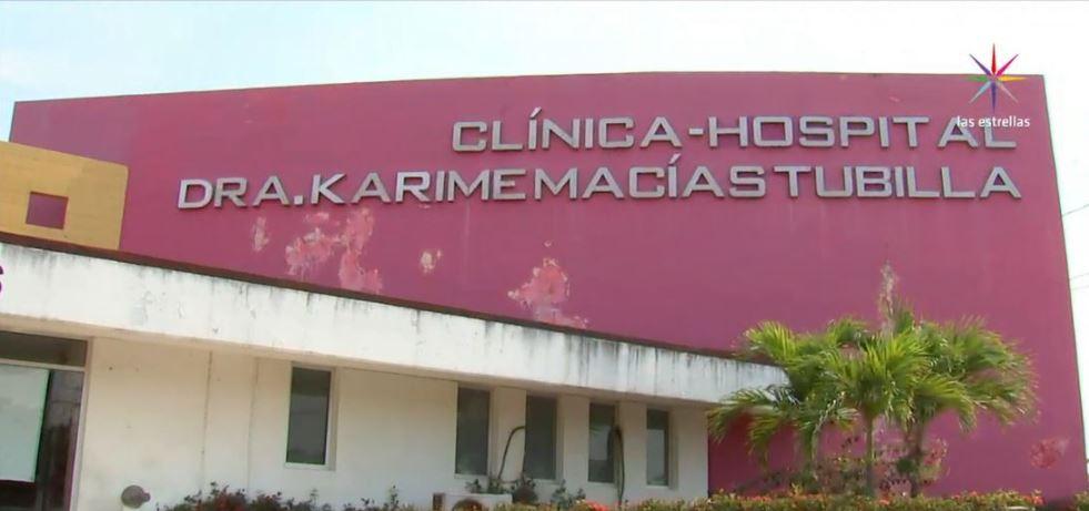 Hospital con el nombre de Karime Macías en Veracruz
