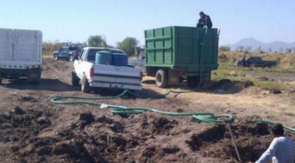 Huachicoleros en Puebla usan mangueras para robar combustible