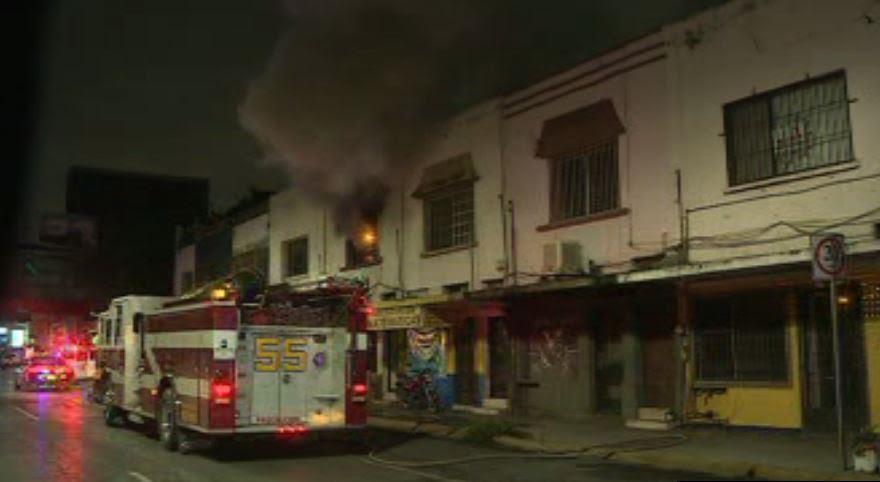 incendio consume departamento en monterrey , nl