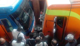 incidente entre trenes de la linea a del metro