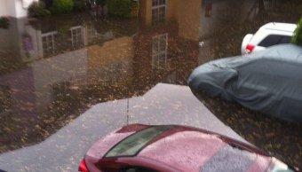 Inundaciones en Fraccionamiento Villas Prado Coapa