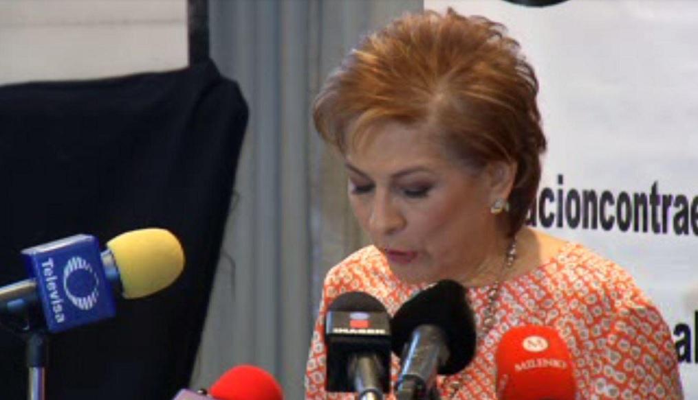 Isabel Miranda de Wallace informó que en abril hubo menos secuestros en México. (FOROtv)