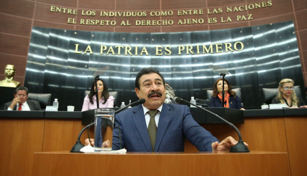 Isidro Pedraza Chávez, senador del PRD