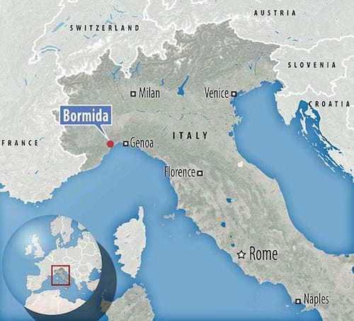 Italia pueblo ofrece pago