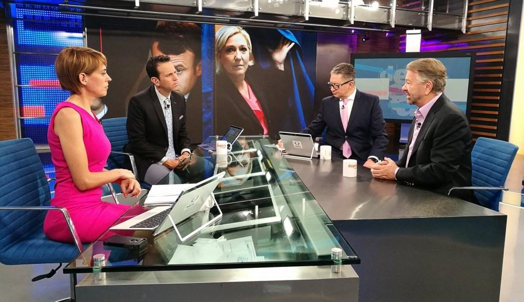 Jorge Castañeda, Despierta con Loret, Elecciones en Francia, Emmanuel Macron, Carlos Loret de Mola, Despierta con Loret
