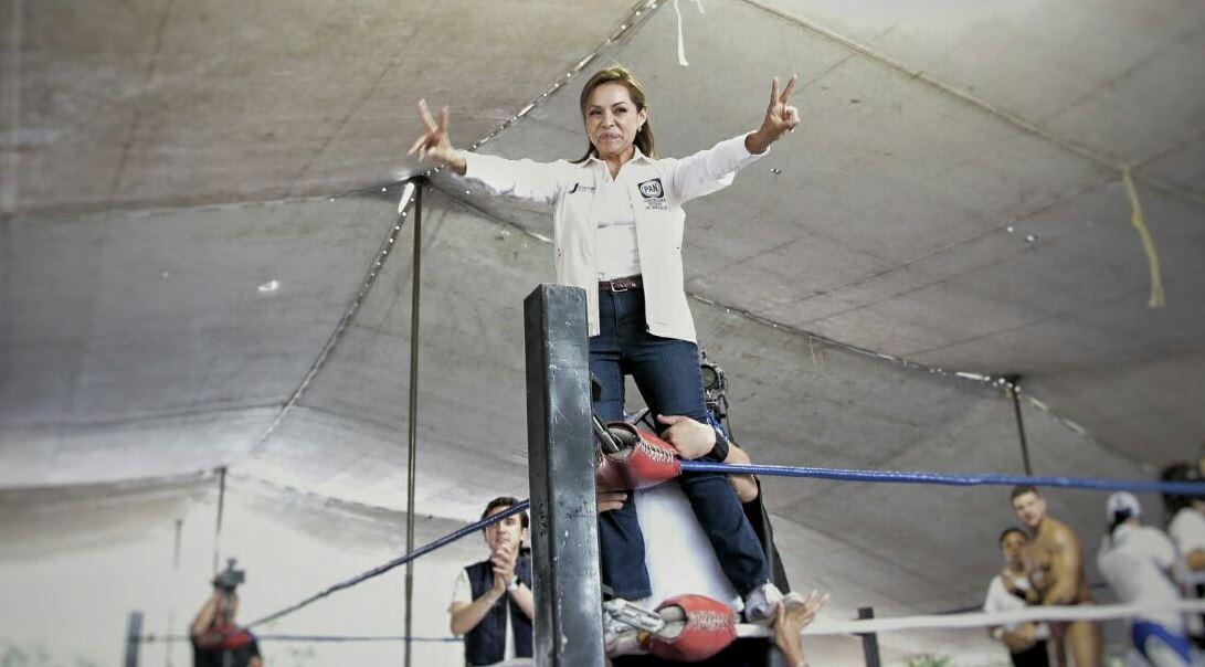 Josefina Vázquez Mota, candidata del PAN en el Edomex