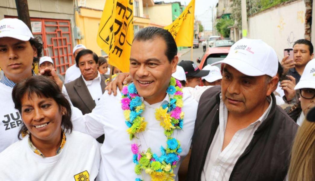 Juan Zepeda, candidato del PRD en el Estado de México