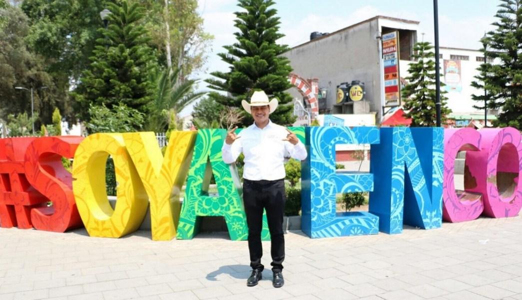 Juan Zepeda visitó San Salvador Atenco