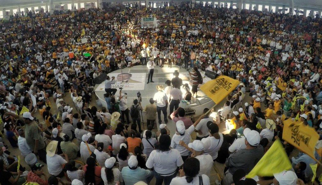 Juan Zepeda visitó Tlatlaya, Amatepec y Tejupilco