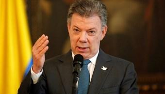 presidente colombiano, Juan Manuel Santos, colombia