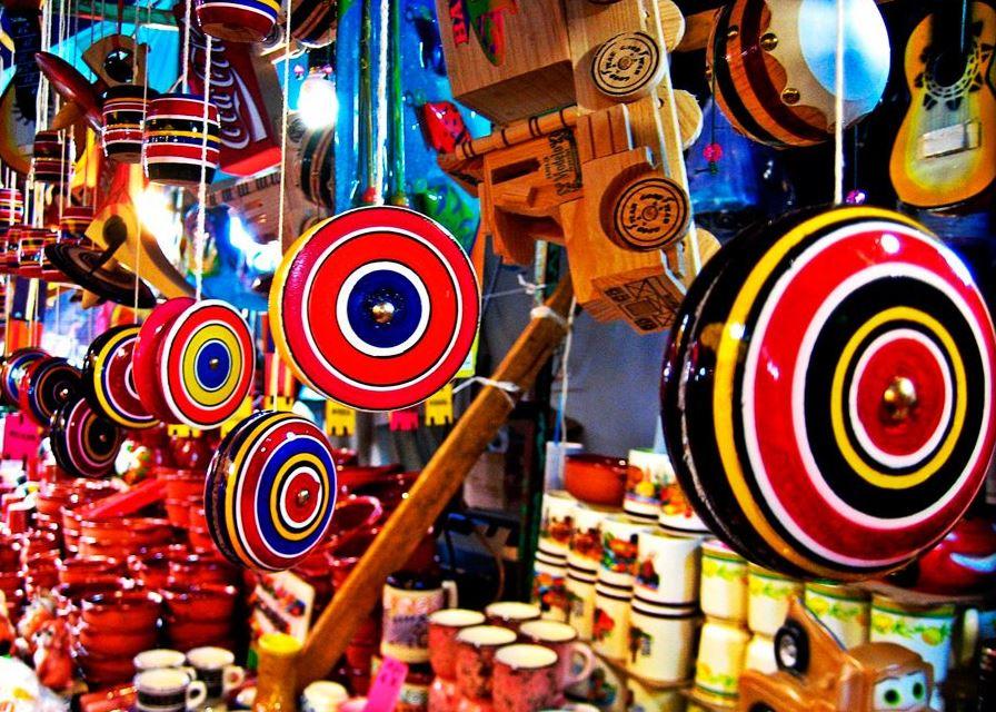 Juguetes, mexicanos, tradicionales, niños, oaxaca, identidad