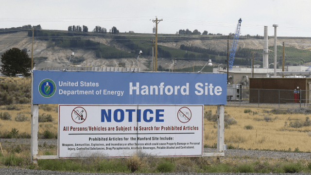 central nuclear de Hanford en el estado de Washington