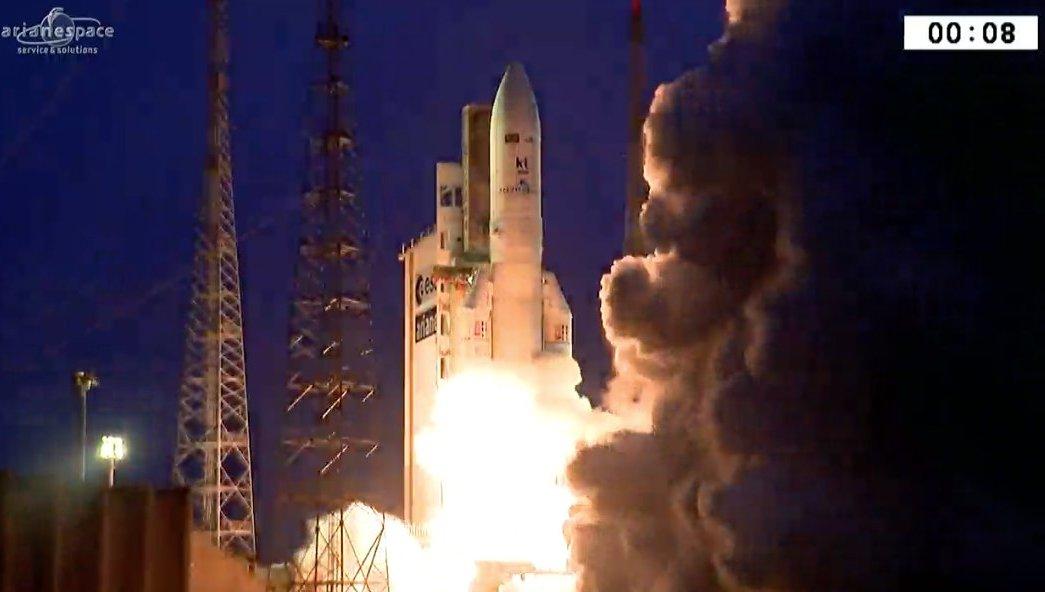 Cohete, satélite, Ariane, Brasil, Surcorea, espacio, tecnología,