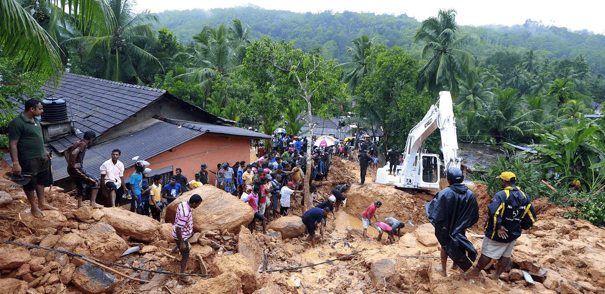 Las inundaciones en Sri Lanka afectan a cinco de los 25 distritos del país, incluida la capital y las zonas adyacentes