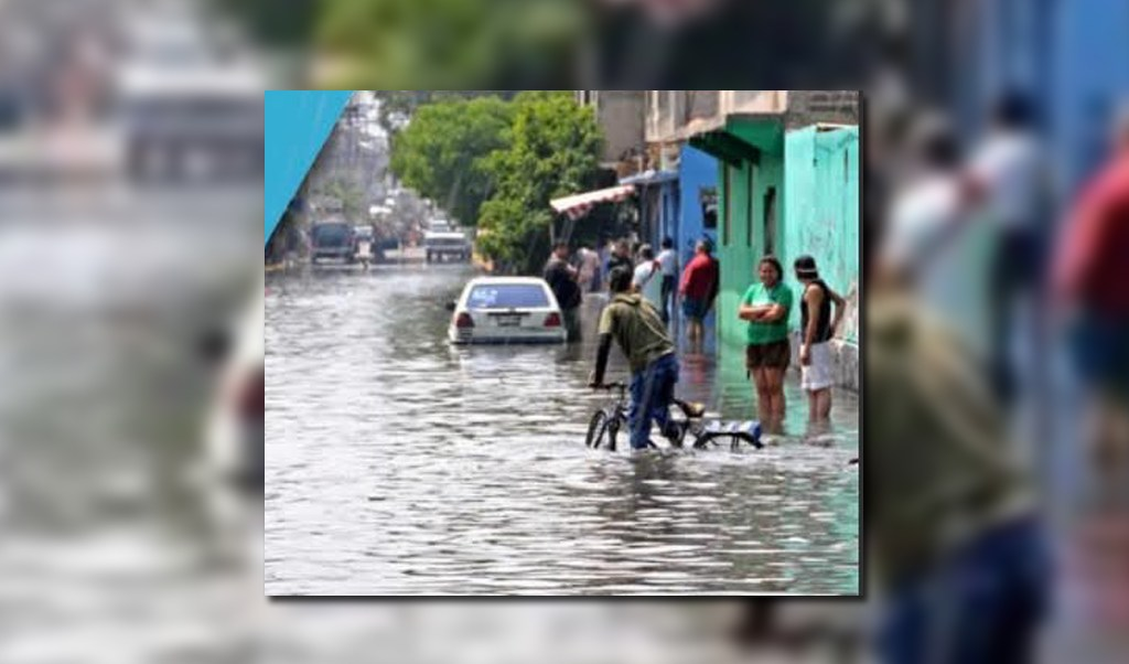 LLuvias afectan a Nuevo Leon