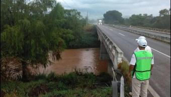 De acuerdo con la Conagua, las lluvias fueron históricas en Chiapas. (Twitter @pcivilchiapas)