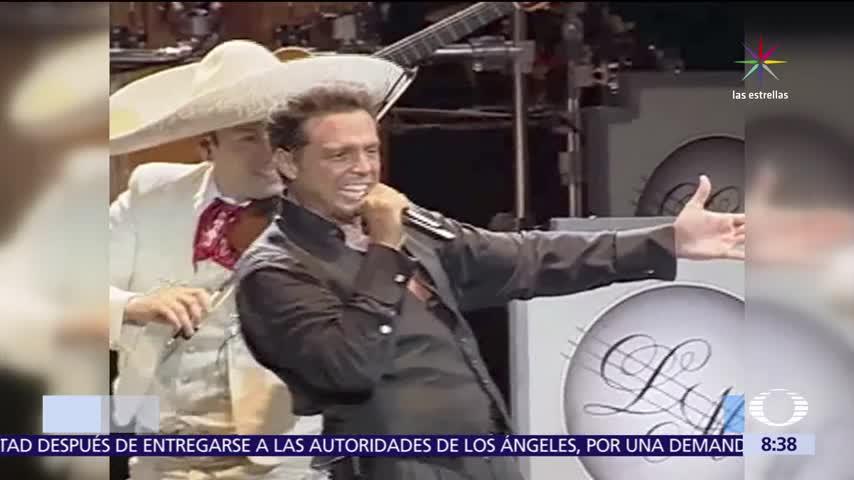 Luis Miguel, Luis Miguel queda libre, Luis Miguel paga una fianza, Libre Luis Miguel
