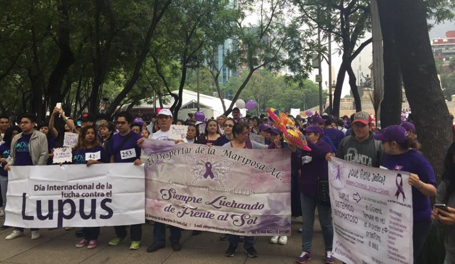 Realizan caminata en la CDMX para crear conciencia sobre el lupus