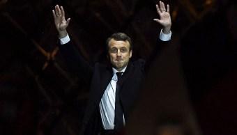 Francia, Macron, Presidente, Union Europea, Votación, Triunfo