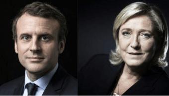 Emmanuel Macron, Marine Le Pen, segunda vuelta, francia,