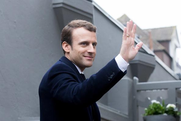 Macron obtuvo entre 65.5% y 66.1% de los votos (Getty Images)