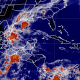 Mapa Satelital, México, Onda tropical 2, lluvias, guerrero,