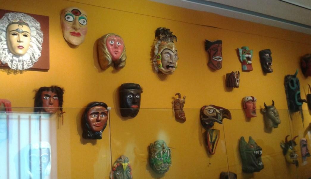 Mascaras en el museo de bernal queretaro