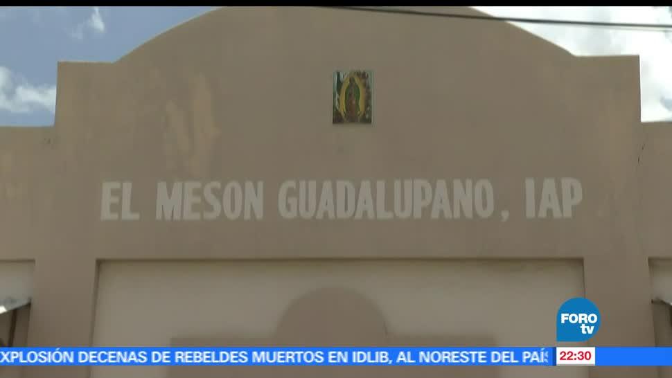 Mesón Guadalupano, comedor comunitario, personas, condiciones vulnerables Sonora, comida, gratuita
