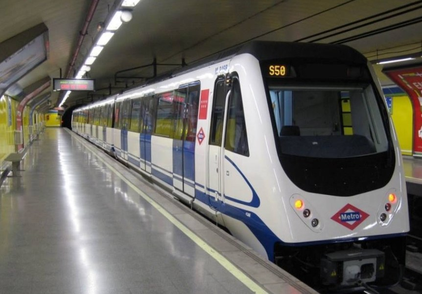 Andenes del Metro de Madrid (Twitter @metro_madrid)