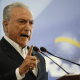 Presidente de Brasil, Michel Temer, corrupción, fotografía