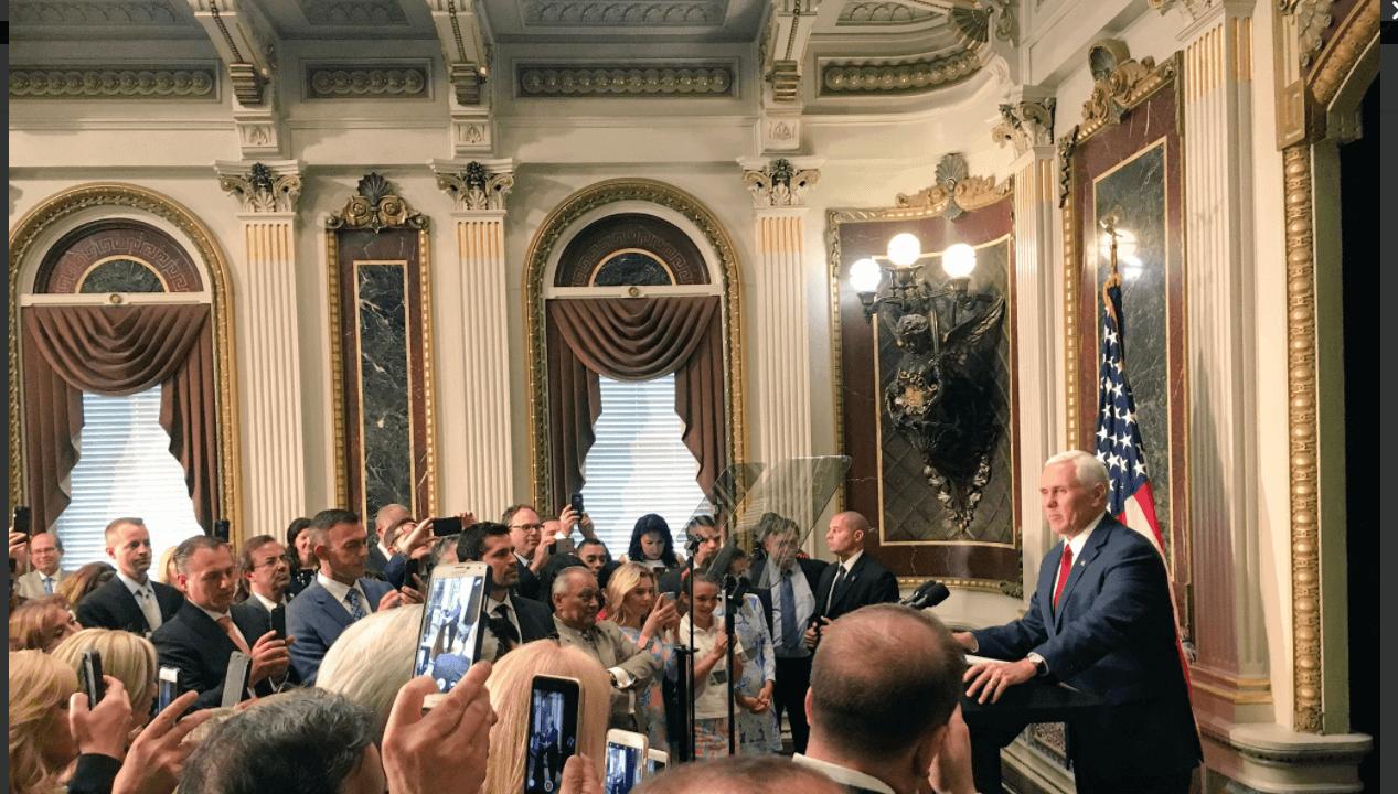 Mike Pence, vicepresidente de Estados Unidos