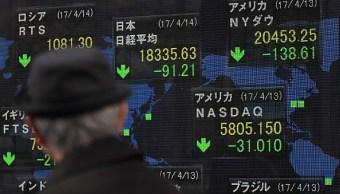 El índice Nikkei de la Bolsa de Tokio cerró en baja. (Getty Images)