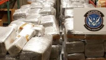 Decomiso de droga en Nogales, Arizona. (Noticieros Televisa)