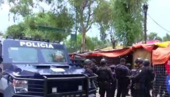 Tras el operativo hay 10 detenidos (FOROtv/Especial)