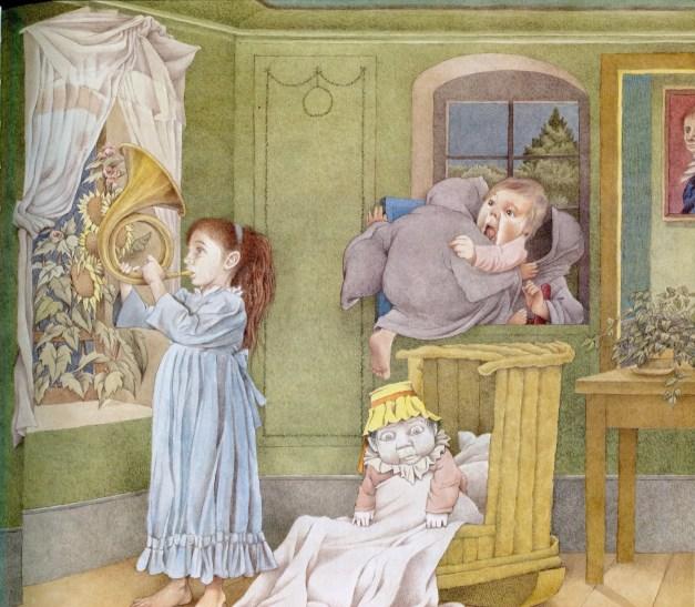 Outside Over There, Maurice Sendak, literatura infantil,