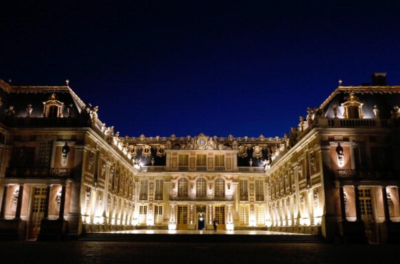 El palacio francés de Versalles