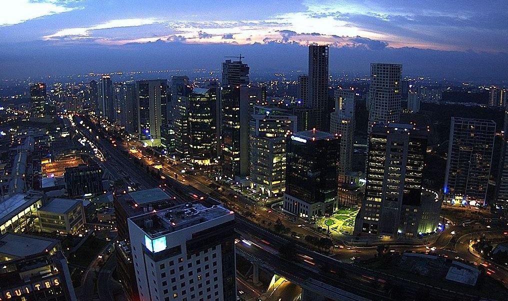 panoramica de la ciudad de mexico, preven 27 grados