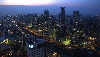 panoramica de la ciudad de mexico desde santa fe