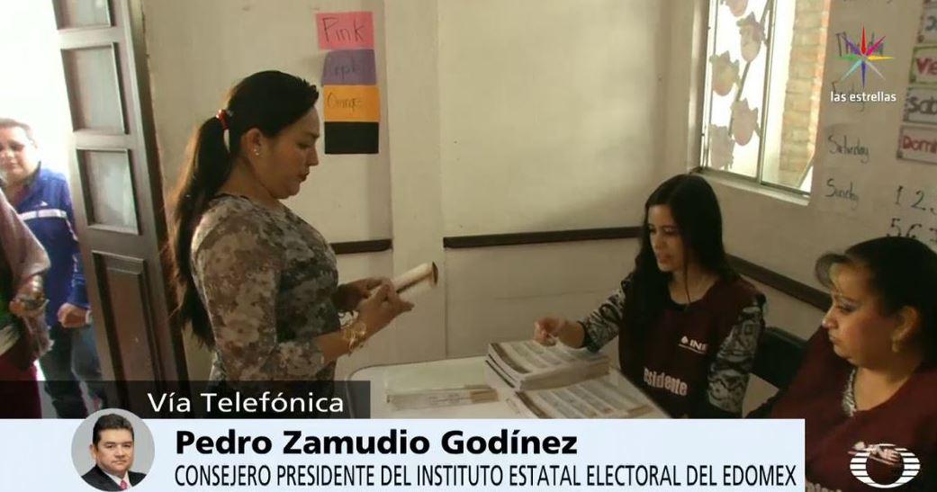 Pedro Zamudio Godínez, consejero presidente del Instituto Electoral del Edomex