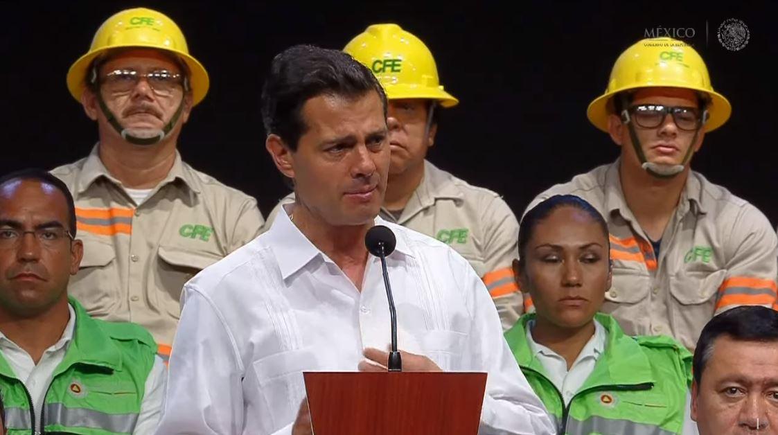 Peña Nieto dialoga con líderes de la ONU