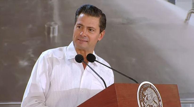 el presidente enrique peña nieto en yucatan