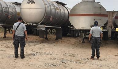 Aseguran más de 111 mil litros de hidrocarburo en Puebla y Veracruz. (PGR)